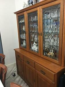 Classic wooden buffet and hutch Sans Souci Rockdale Area Preview
