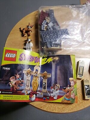 Lego Scoobydoo 75900 used complete no Shaggy oop retired scooby doo minifigures
