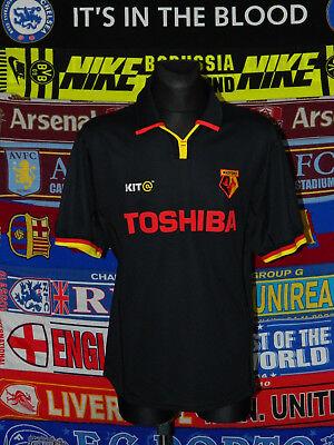 4.5/5 Watford adults XXL 2001 away retro football shirt jersey trikot soccer image