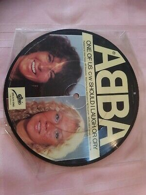 "7"" Abba - One of us PICTURE DISC"