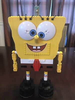 Nickelodean Lego Spongebob Build A Bob Complete With Box And Instructions