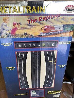 Model Power Metal Train Set - Santa Fe Railroad