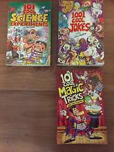 3x101 book series - Cool Jokes, Magic Tricks, Science Experiments Haberfield Ashfield Area Preview