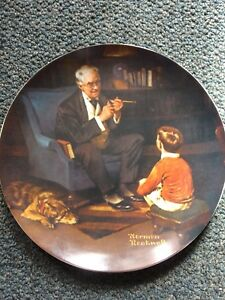 Norman Rockwell Collector Plate