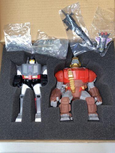 Transformers Collectors Club Megatron Spacewarp Optimus Prime HI-Q NIB Boxed