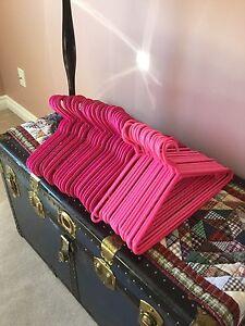 Pretty Pink Hangers