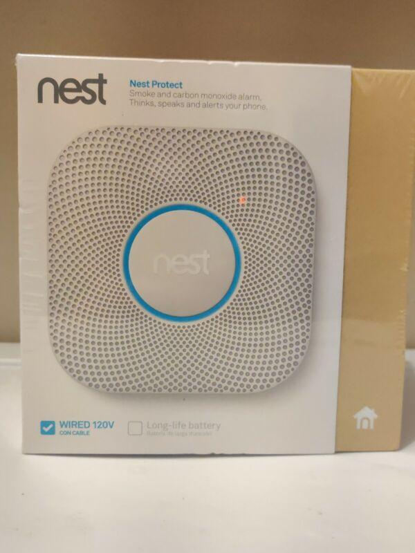 Google S3003LWES Nest Protect Alarm-Smoke Carbon Monoxide Detector, 1, White