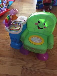 Chaise interactive musicale fisher price
