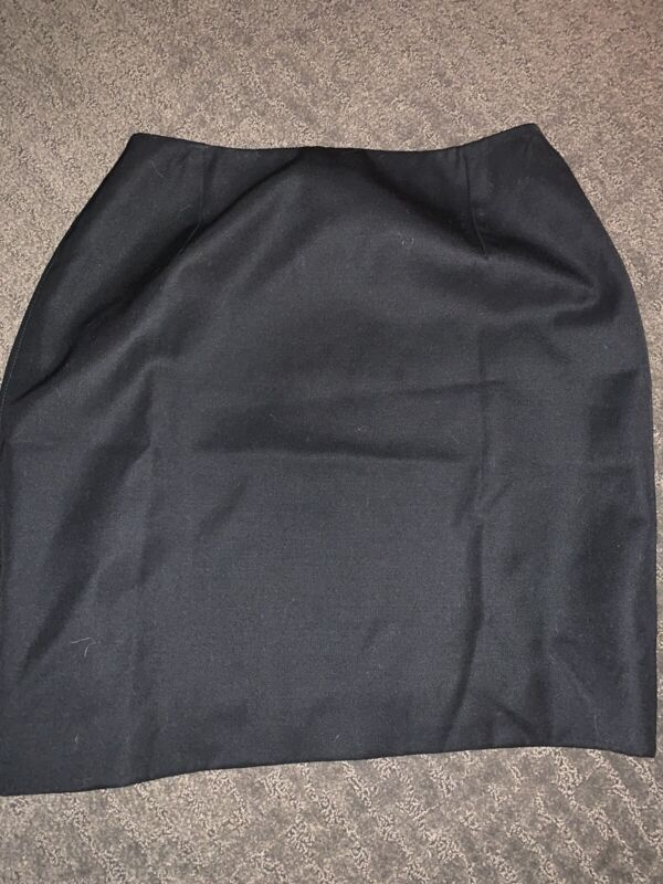 Gianni Versace Black Mini Skirt Women's Size 42 US small Made In Italy