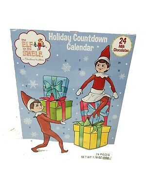The Elf on The Shelf a Christmas Tradition Holiday Countdown Calendar 24 Pieces