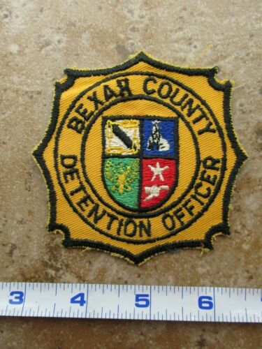 OBSOLETE Vintage State of Texas Bexar County Detention Officer Police Patch