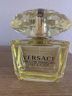 Versace Yellow Diamond Intense EDP Spray 90ml New Without Box