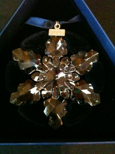 Swarovski Snowflake Ornament 2008