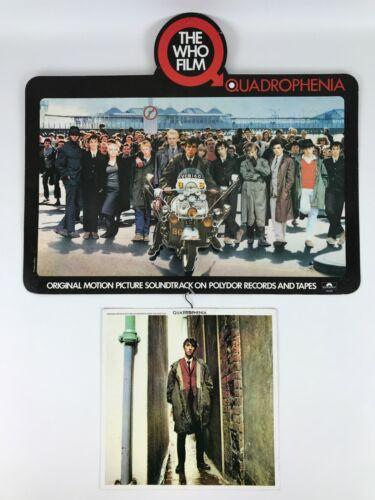 Vintage The Who Quadrophenia Film Soundtrack Hanging Record Store 3D Promo