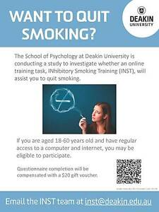 Want to quit smoking? Burwood Whitehorse Area Preview