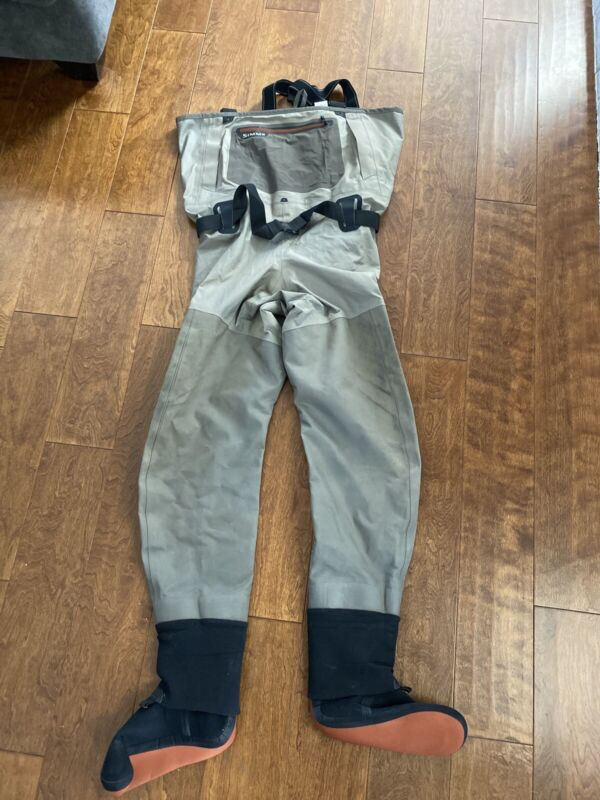Simms G3 Waders, Size XLarge LL 12-13
