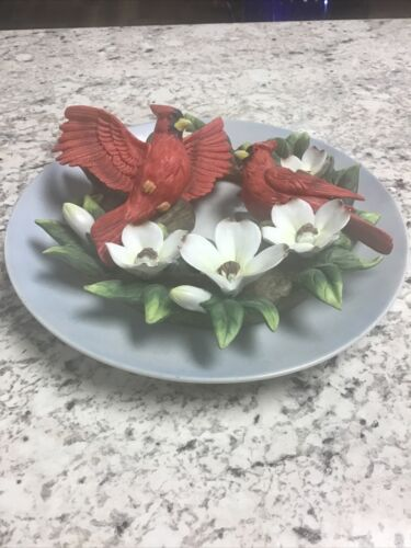 CARDINAL PLATE - CHRISTMAS IS COMING.. DO NOT BE LATE  - $1.00