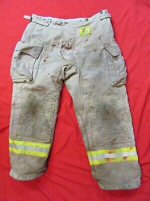 Morning Pride Firefighter Turnout Bunker Pants 40 X 30 Fire Gear  Halloween