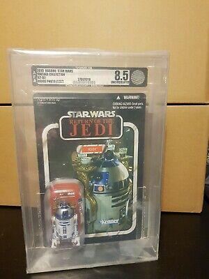 Star Wars R2-D2 ROTJ Vintage Collection AFA Graded 8.5