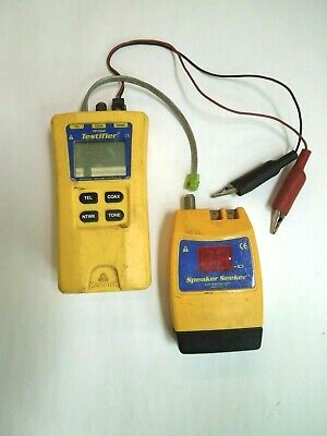 Test-um Testifiertp350 Professional Cable Tester Speaker Seeker Tp410
