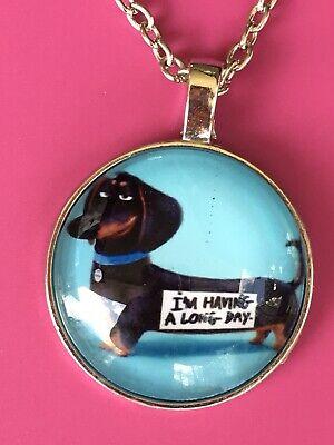 Funny dachshund Pendant Necklace/Cute/Charm/Pendant/Weenie Dog/Cute/Cartoon for sale  Cayce