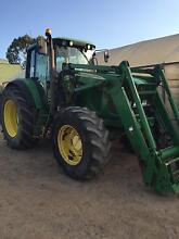 Tractor John Deere 6620 premium cab  &741 loader Springwood Blue Mountains Preview