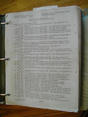 American 11320 Crane Accessory Parts Manual Maintenance 1100 Crawler Cummins
