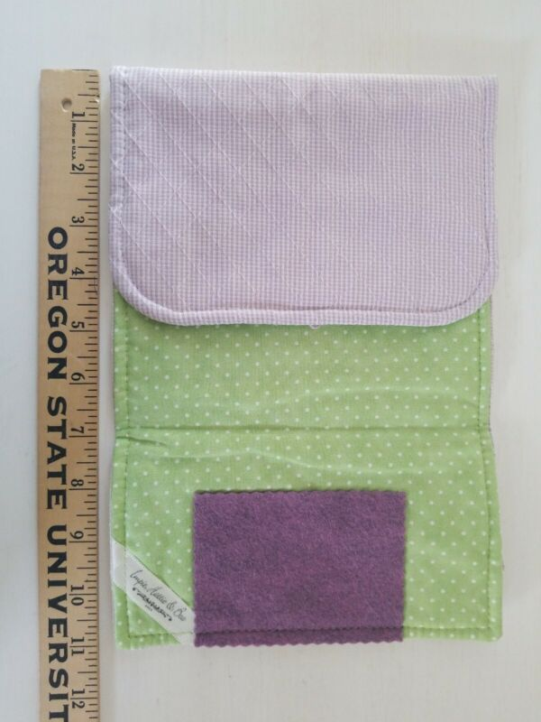 HUSWIFE by Impie Hattie & Bea for Little House Needleworks LAVENDER HILL huswif