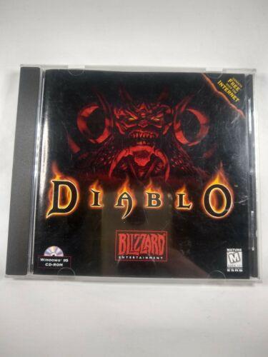Computer Games - Diablo 1 (PC CD-Rom) Vintage 1995  - Blizzard Computer Classic Game