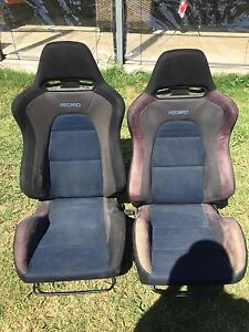 Evo 7 Recaro seats Guildford Parramatta Area Preview