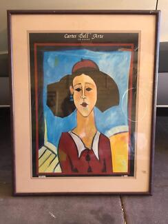 Painting portrait 1m height 70cm width