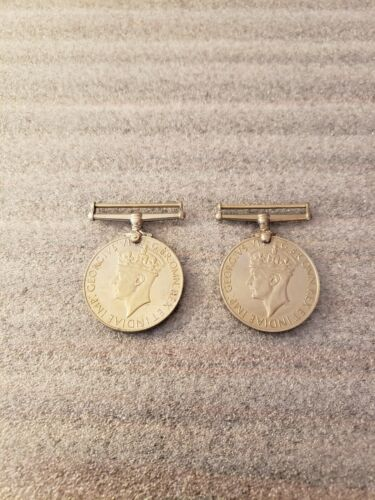 British WWI Silver War Medal (Unnamed Pair)