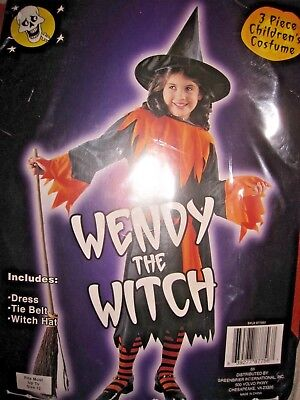 Girls Wendy the Witch Halloween Costume Brand New Size M Up to Size 12](Wendy Halloween)