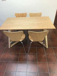 Danish Dining Table 140cm  (brand new)