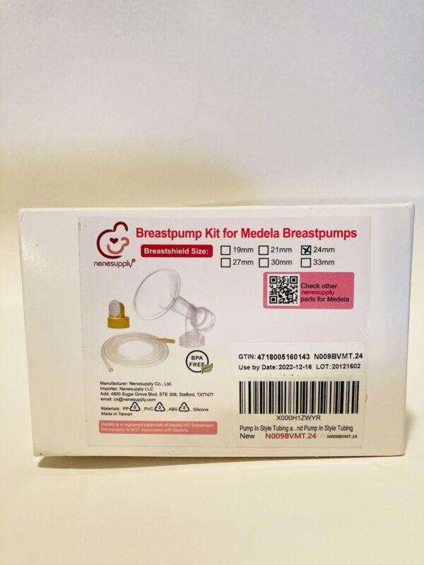 Nenesupply Compatible Pump Parts for Medela Pump in Style Breastpump 24mm