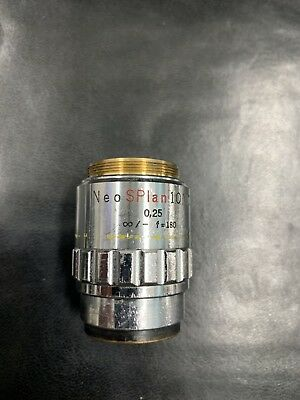 Olympus Neo Splan 10 Nic 10x0.25 F180 Objective Lens