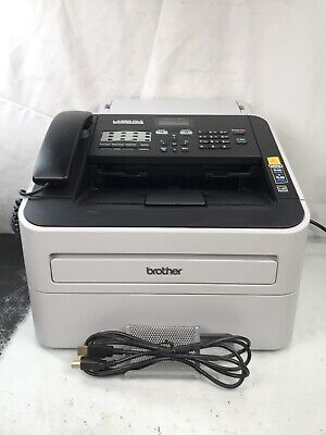 Brother Intellifax Fax2840 High-speed Laser Fax Machine With Usb Cable Toner