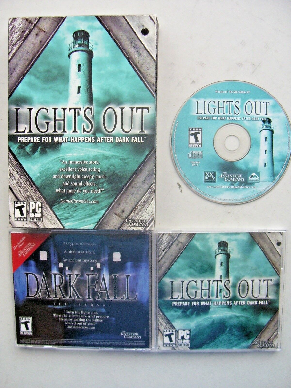 Dark Fall: Lights Out (PC: Windows, 2009) - Boxed Edition