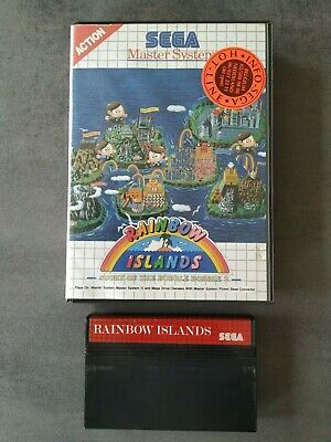 Sega master system game Rainbow Islands storry of the bubble bobble 2 SMS TOP