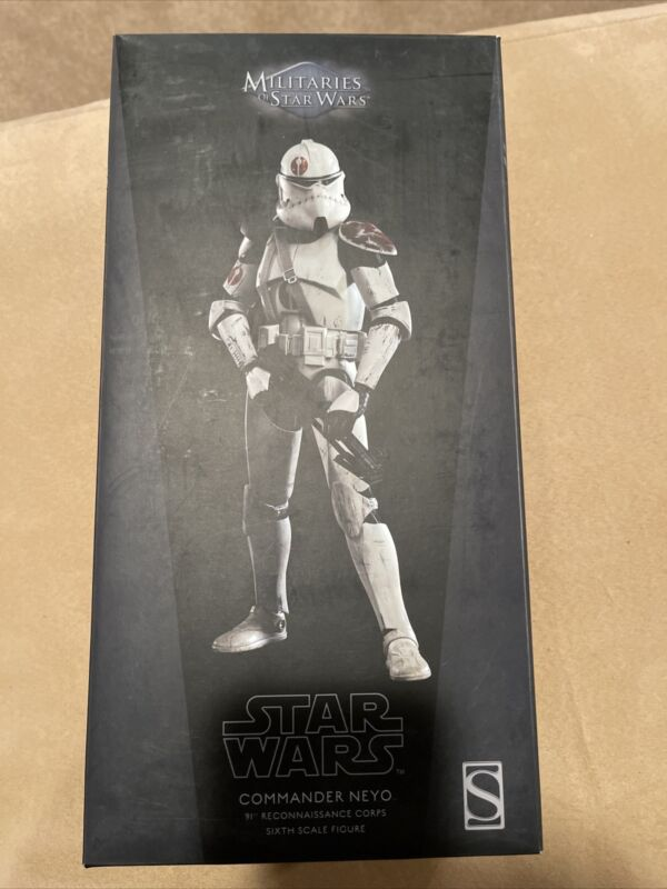 Sideshow Collectibles Commander NEYO 91st Reconnaissance Corps Sixth Scale