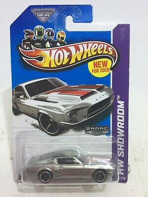 2013 Hot Wheels Walmart #11 Zamac #245 HW Showroom '68 SHELBY GT500 HW 245/250