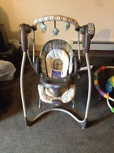 Graco Baby Swing and Bouncy seat