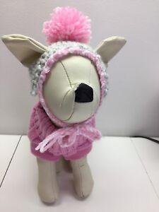 Tuque bas de laine pour chien ou chat