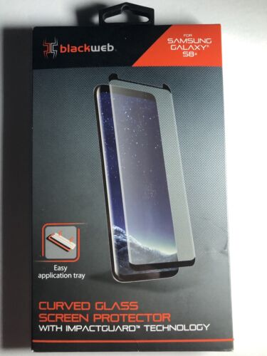 Blackweb Curved Glass Screen Protector Samsung Galaxy S8  - $9.50