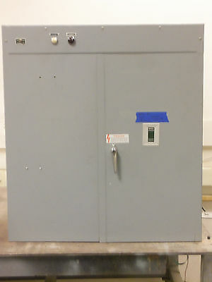 Asco 400 Amp Automatic Transfer Switch 3 Pole Ats 480v 277v 3 Phase 300 350