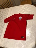 Nike England Away Jersey World Cup 2014 Youth Lg- $25