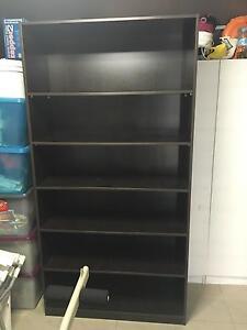 Chocolate brown bookcase Merrylands Parramatta Area Preview