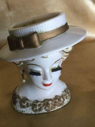 4 3/4 Rubens Lady Head Vase - $30.00