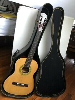 ALHAMBRA GUITAR WITH CASE, 35 3/4