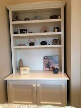 Painted timber shelves with storage Epping Ryde Area Preview